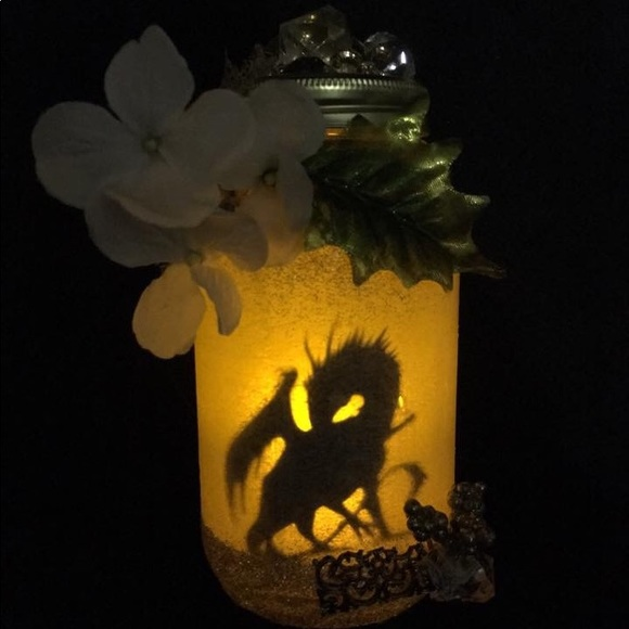Cathy's Magic in a Jar Other - Hand made dragon in a jar.